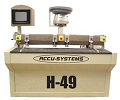 Accu-Systems H-49 CNC Horizontal Bore, Glue & Dowel Insertion Machine