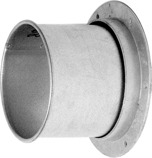 Quot angle flange adapter dust collection piping ducting