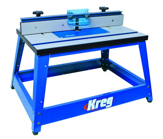 Kreg benchtop router table prs2000 kreg router tables - Kreg router table accessories ...