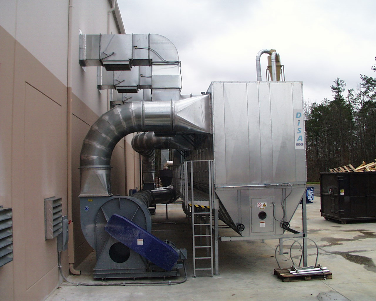 Dust Collection Design Amp Installation Hermance
