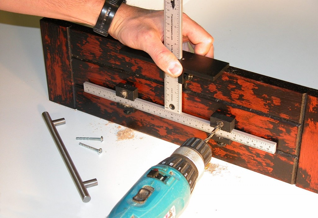 True Position Drill Guide Tp 1935 Hardware Jig With Line
